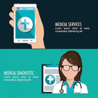 Gezondheidstechnologie ontwerp