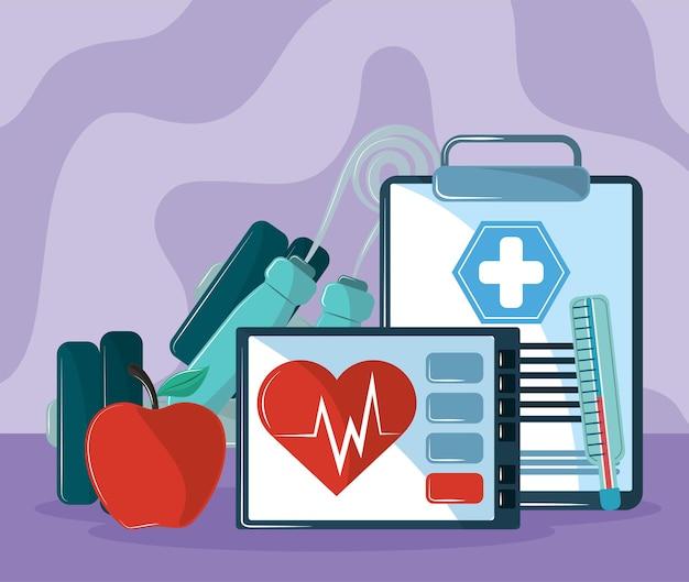 Gezondheidszorg applicatie