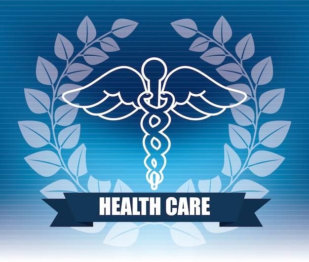 Gezondheidszorg grafisch ontwerp