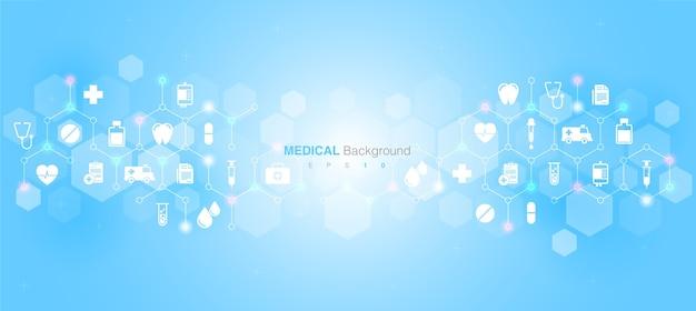 Gezondheidszorg medische innovatieconcept