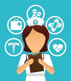 Gezondheidszorg ontwerp