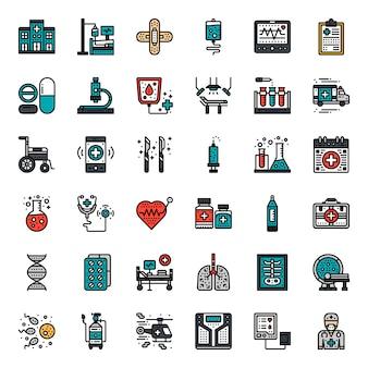Gezondheidszorg pictogram
