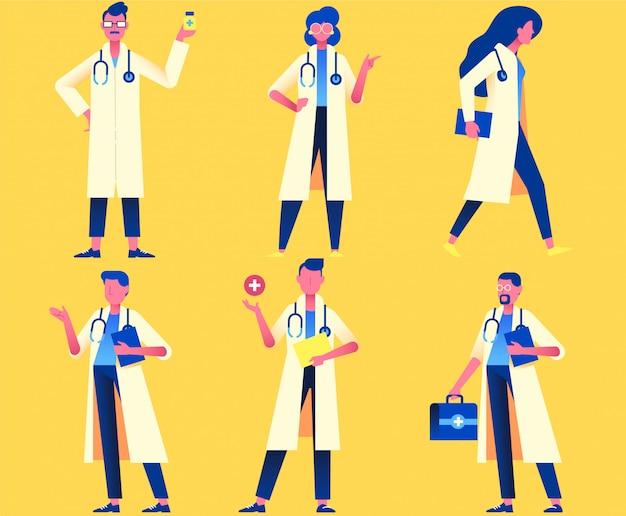 Gezondheidszorg tekens