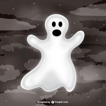 Ghost in halloween nacht