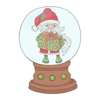 Gift kerstman kerstmis