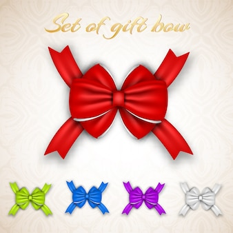 Gift ribbon bows collection