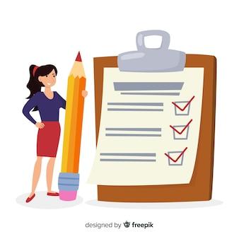 Gigantische checklist