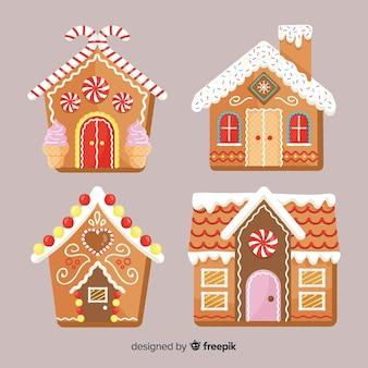 Gingerbread cabinepakket