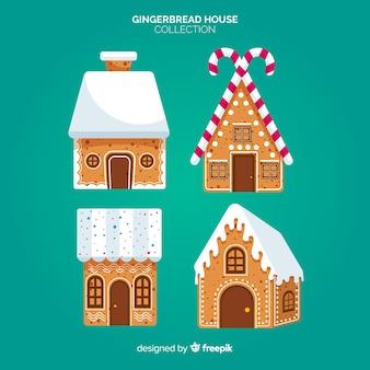 Gingerbread-gebouwencollectie