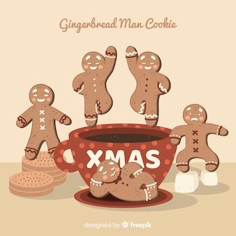 Gingerbread man collectie