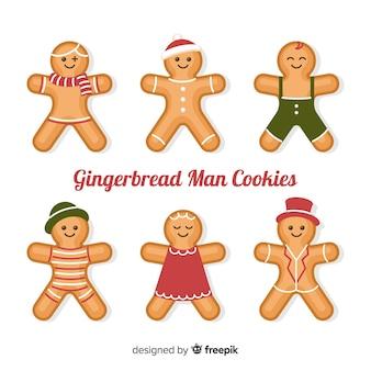 Gingerbread mensen verzamelen