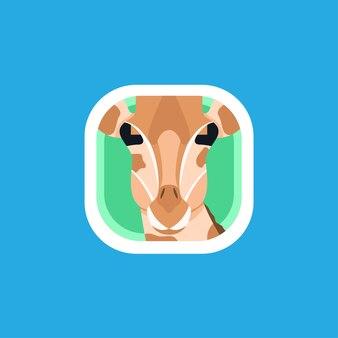 Giraffe app icons logo