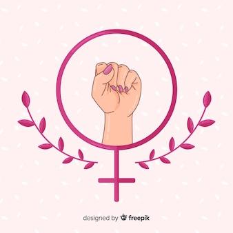 Girl power achtergrond