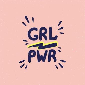 Girl power-beweging.