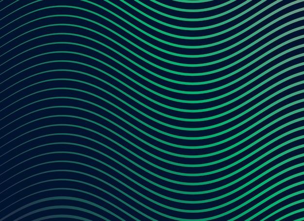 Gladde sinusgolfpatroon achtergrond