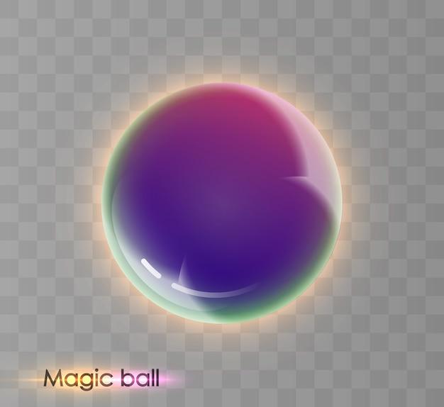 Glanzende 3d-ballen vector 10 eps
