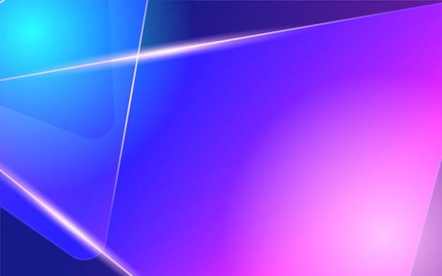 Glanzende blauwe en roze abstracte achtergrond