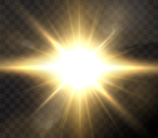 Glanzende gouden sterren geïsoleerd op zwarte achtergrond.