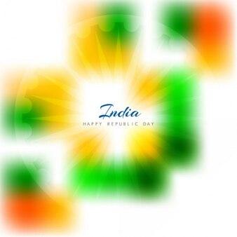 Glanzende indische tricolor achtergrond
