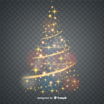 Glanzende kerstboom