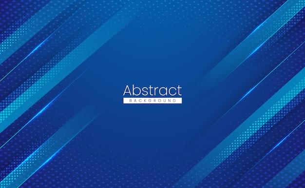 Glanzende sport moderne abstracte achtergrond met bewegingseffect Premium Vector