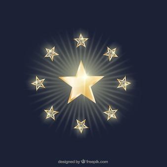 Glanzende sterren