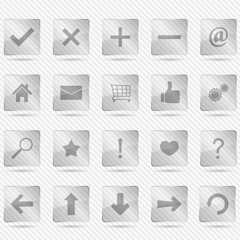 Glas pictogrammen