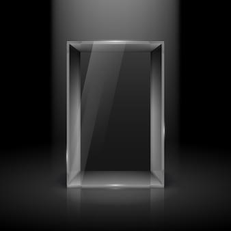 Glazen vitrine