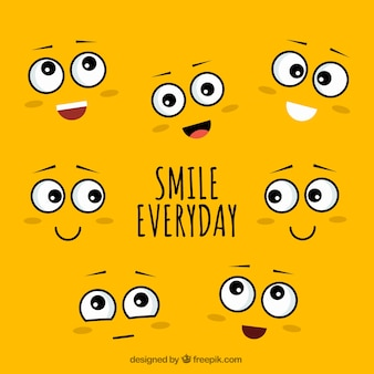 Glimlach elke dag achtergrond