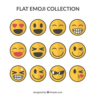 Glimlachen emoticons pack