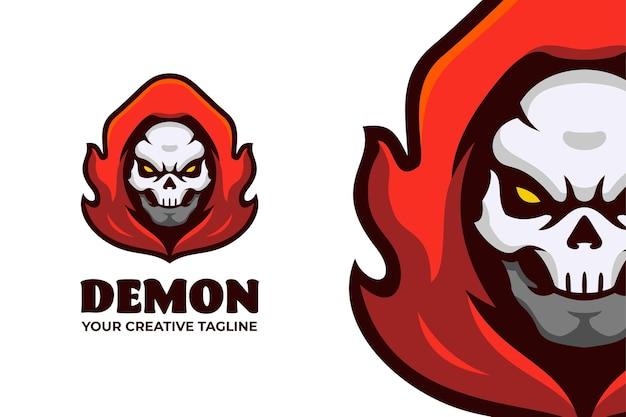 Glimlachende aap mascotte karakter logo sjabloon