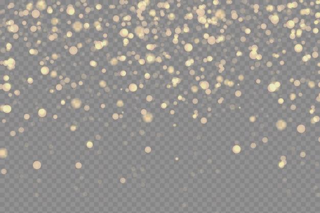 Glinsterende deeltjes