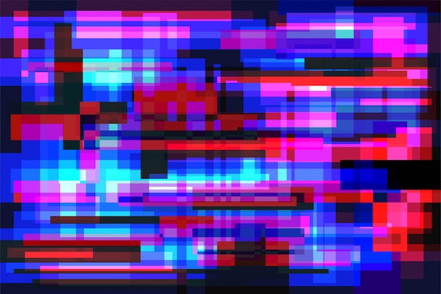 Glitch achtergrond vector