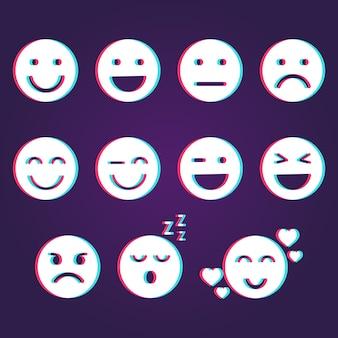 Glitch emoji-collecties