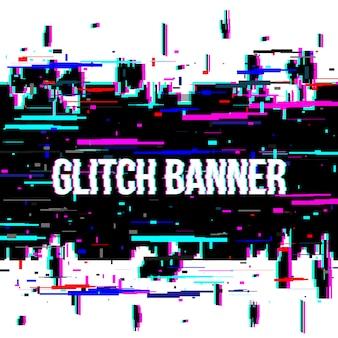 Glitch stijl vervormde achtergrond.