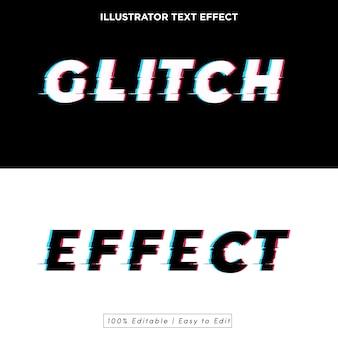 Glitch teksteffect