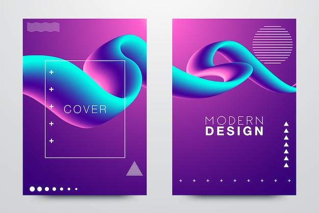 Glitched triangle frame design-set. vervormde glitch stijl moderne achtergrond