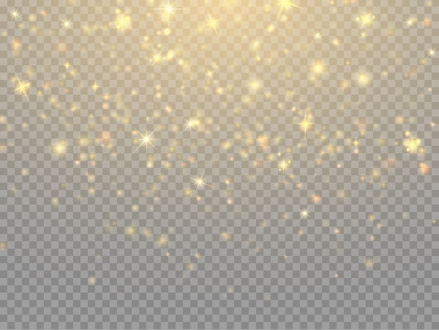 Glitter deeltjes bokeh lichten