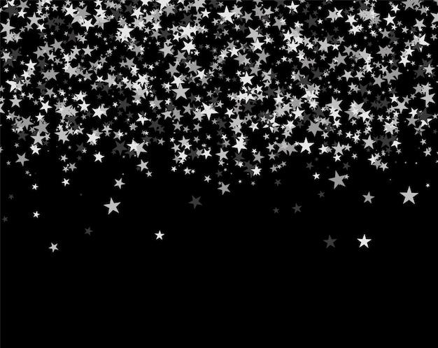 Glitterpatroon gemaakt van sterren