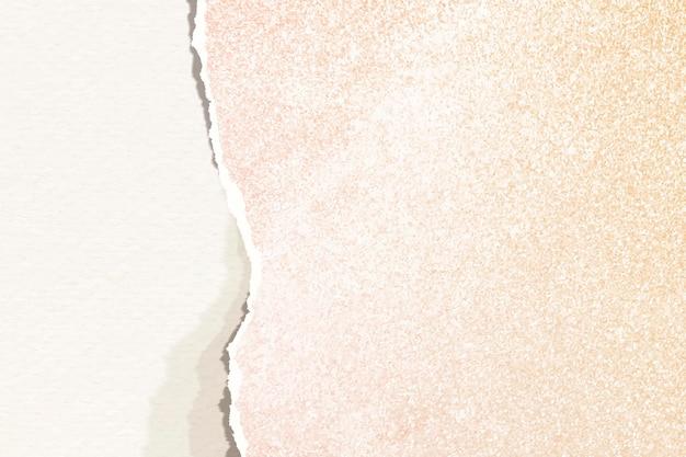 Glittery oranje notitiepapier sjabloon