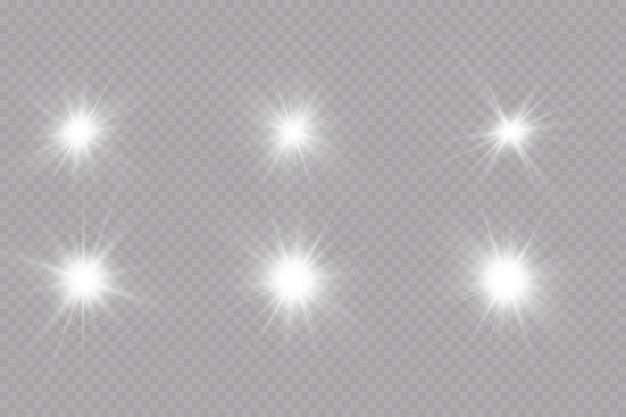 Gloei-effect sterren