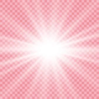Gloeiend lichteffect