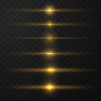 Gloeiend magisch lichteffect en lange paden schieten beweging. abstracte gloed lichtlijnen