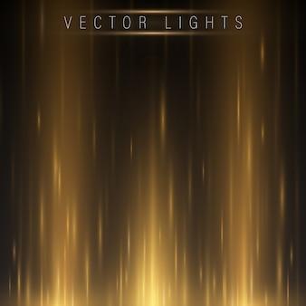 Gloeiend magisch lichteffect