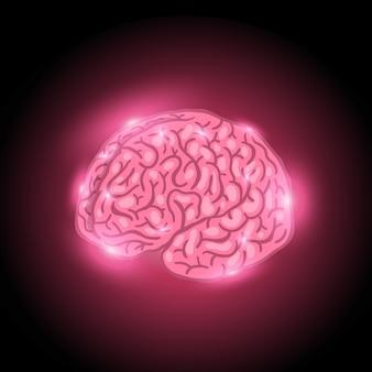 Gloeiende hersenen