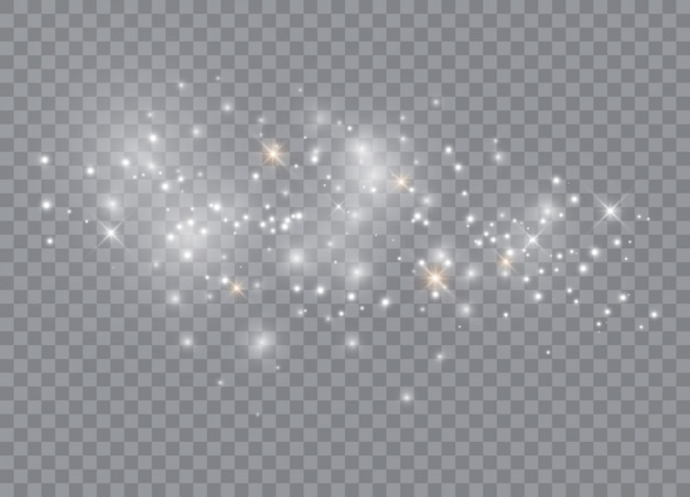 Gloeiende lichte illustratie