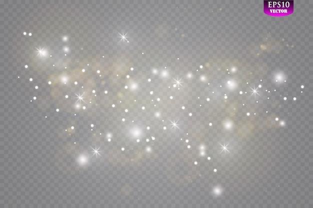 Glow lichteffect. sparkle licht concept.