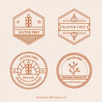 Glutenvrij badges