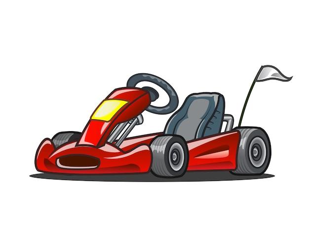 Go kart-racewagen