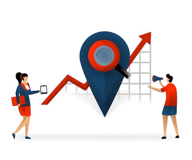Goed keyword en seo selectie op basis van locatie en regio